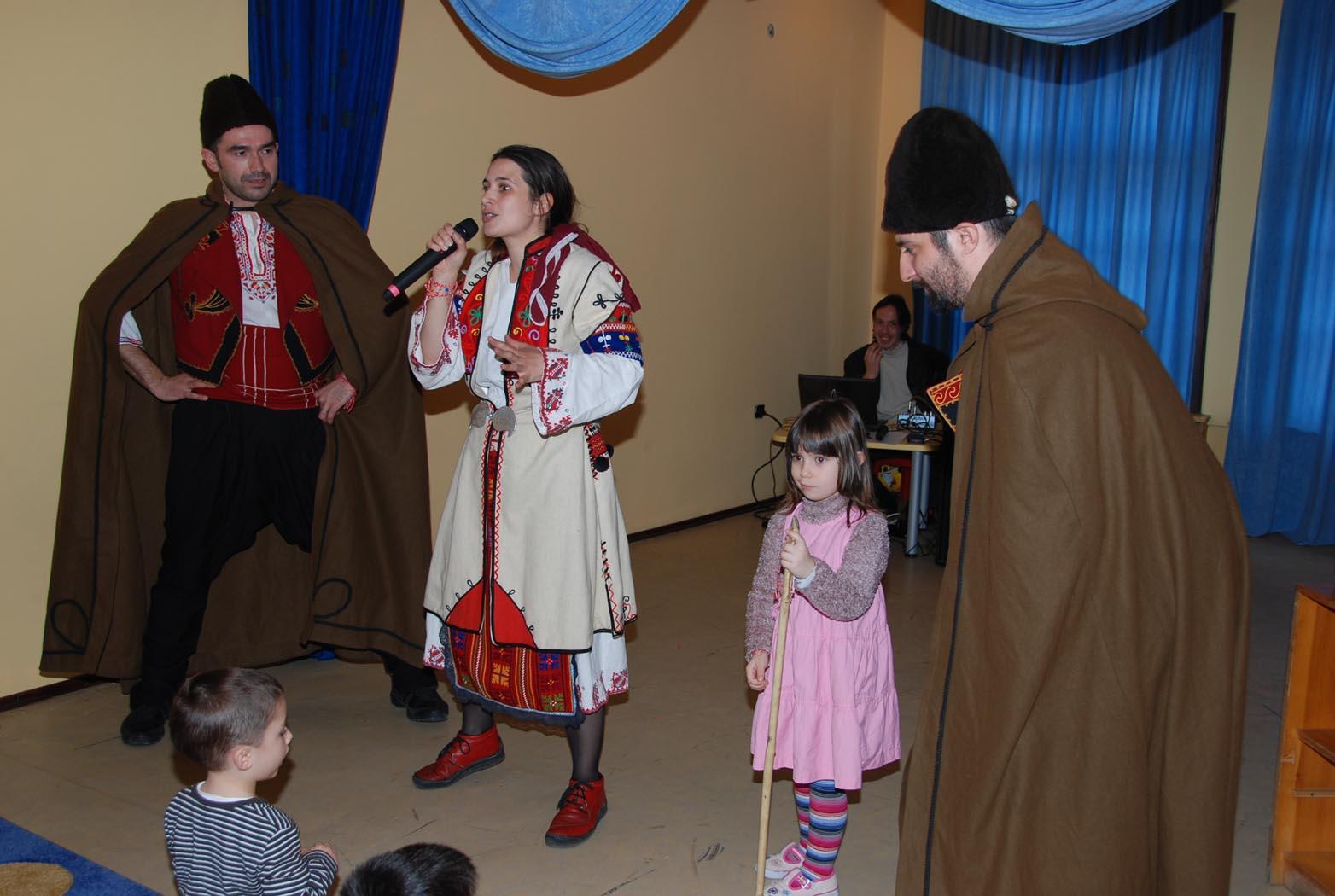 Детско представление - Баба Марта