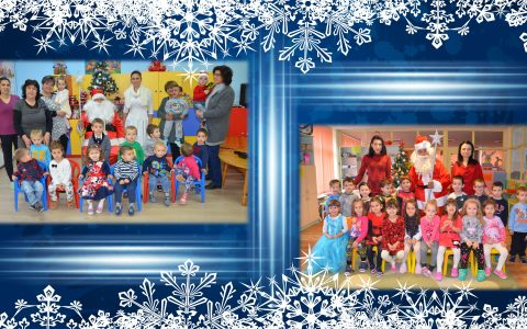 Дядо Коледа пристига в Детските градини