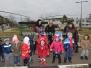 Дядо Коледа пристига в 24 Авиобаза за децата от ДГ Слънце